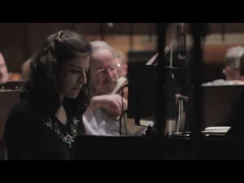 Ingrid Jacoby recording Beethoven piano concerto no.5 (2012)