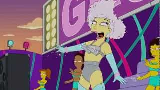 Lady Gaga Monster Lisa Goes Gaga