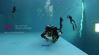 TDI 텍/테크니컬 다이빙, 감압 베이직 스킬 - 데코…