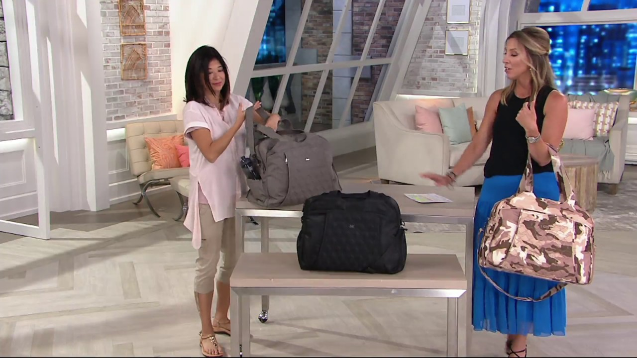 1e4fe1eec Lug Quilted Travel Bag with RFID - Pontoon on QVC - YouTube