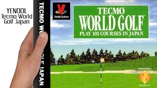 VieilleStation N°155 - Tecmo World Golf Japan - YENOOL