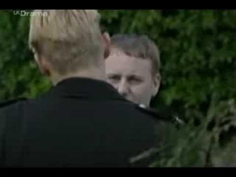 The Cops. Dean helps a blind man