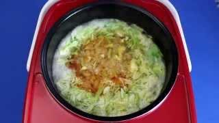 Рецепт приготовления щей из молодой капусты с фасолью в мультиварке VITEK VT-4214 R