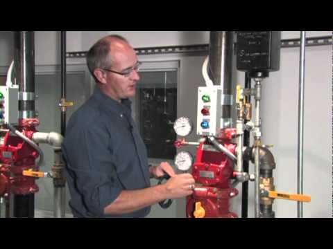 Viking Wet Pipe Alarm Check Valve System - System Reset Procedure