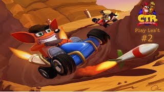 تختيم كراش سيارات 2 play lest crash team racing 2