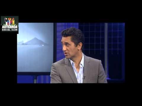 Cliff Curtis actor  on Late Night Talk  Aotearoa Social Club