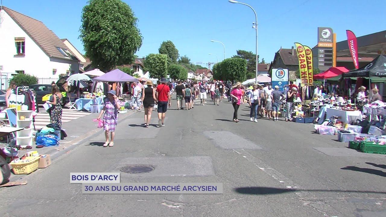 Yvelines | Bois d'Arcy : 30 ans du marché arcisien