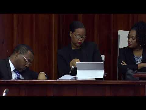 HON DR KENNY D ANTHONY DEBATES SAINT LUCIA TOURISM AUTHORITY (AMENDMENT) BILL