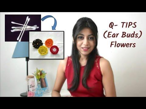 diy-easy-flowers-using-q-tips-(ear-buds)-|decor-ideas