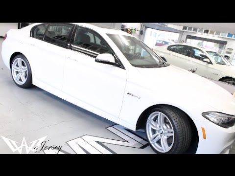 White 2015 Bmw 535i X Drive Tinted By Winning Window Tints Youtube
