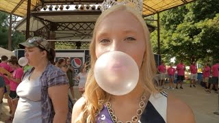 Bubblegum Blowing Contest