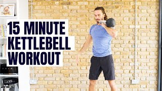 15 Minute Kettlebell Workout | The Body Coach