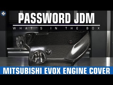 Password JDM Engine Cover – Mitsubishi EVO X