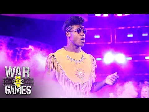 Velveteen Dream makes his fashionable ring entrance: NXT TakeOver: WarGames (WWE Network Exclusive)
