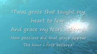 Amazing Grace Lyrics thumbnail