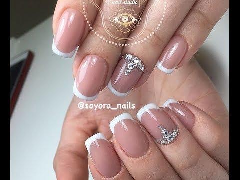 Дизайн на короткие ногти свадебный дизайн
