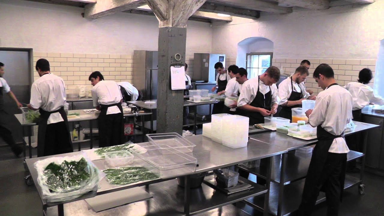 Prep kitchen at Noma in Copenhagen  YouTube