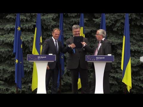 EU pushes Ukraine on corruption at high-profile summit