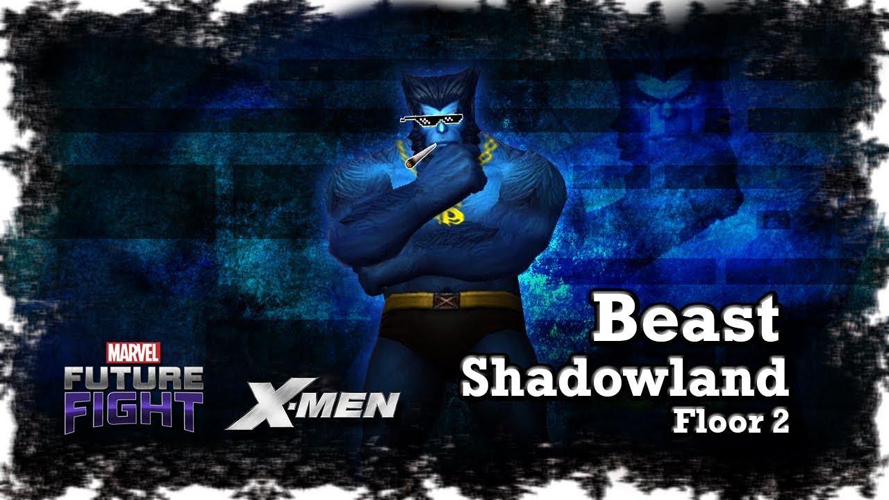 Marvel Future Fight X Men Beast Easy Mode On