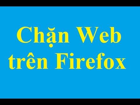 Chặn Website bất kỳ trên Firefox – Taimienphi.vn