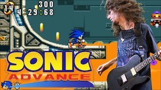 Sonic Advance Egg Rocket Zone Theme - Metal Cover || ToxicxEternity
