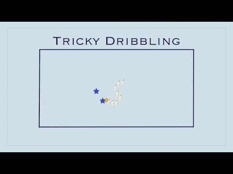Physical Education Games - Tricky Dribbling