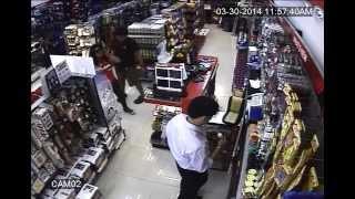 Shoplifter sa Megamall