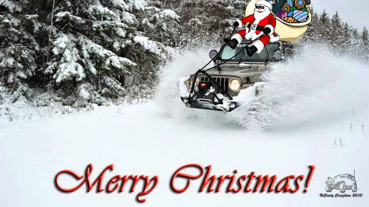 Christmas Jeep.Jeep Poem Ode To My Jeep At Christmas