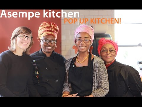 Asempe kitchen - Pop Up Kitchen (Ghana) Food