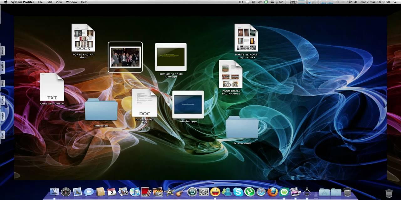 Lucky 3d desktop mac os x youtube for Cuisine 3d mac os x