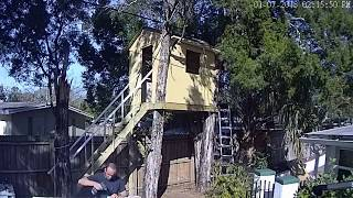 How to build a Tree House in 10 min