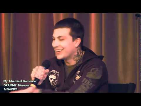My Chemical Romance  The GRAMMY Museum Interview Part 1 sub ita