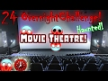 24 HOUR OVERNIGHT CHALLENGE In MOVIE THEATRE 24 HOUR OVERNIGHT IN HAUNTED ABANDONED MOVIE THEATRE mp3