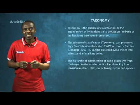 WizitUp eLearning: Biology-Taxonomy and Viruses (010/05)