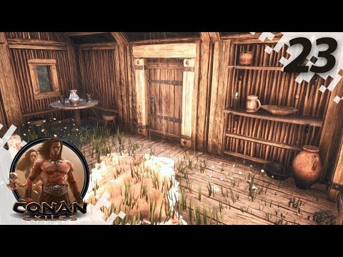 CONAN EXILES: THE FROZEN NORTH - Rebuilding! - EP23