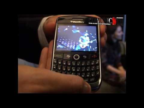 Demo BlackBerry Curve 8900 @ Orange Romania