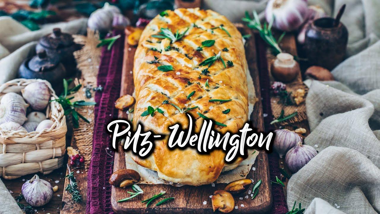 Pilz-Wellington (veganer Braten) * einfaches Rezept