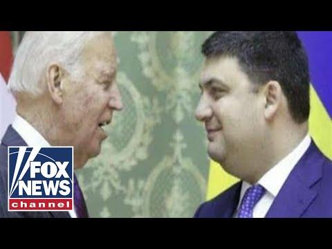President Trump questions Former VP Joe Biden's ties to Ukraine