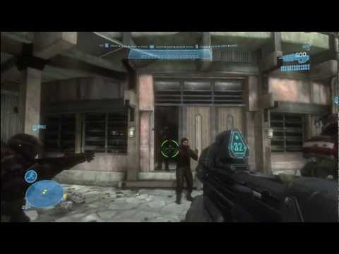 Let's Play Halo: Reach (Walkthrough) - #1 Nobel Team and Investigation