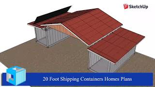 Shipping container workshop design plans - Shipping container workshop plans