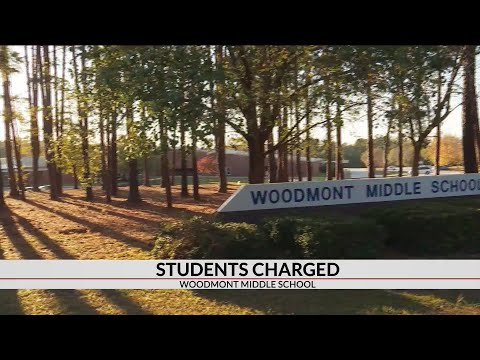 Three Woodmont Middle School students charged with school threats