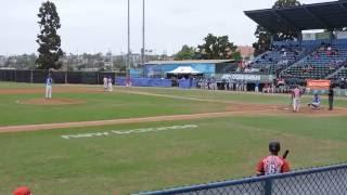 Jennings, Nick -  AC Games  08 08 2016 - 2IP 3K 0ER 2BB  FB90MPH - KC Royals vs Nationals 3rd inning