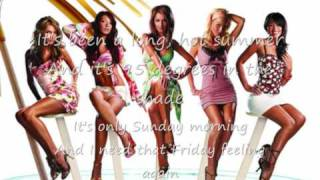 Girls Aloud Long Hot Summer with Lyrics