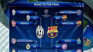 مباراة برشلونة ويوفنتوس مع اغنية حبيبي برشلوني