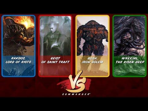 Commander VS S4E5: Rakdos vs Geist vs Bosh vs Wrexial [MtG: Multiplayer]