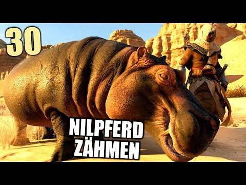 Assassin's Creed Origins Gameplay German #30 Nilpferd zähmen! | Let's Play Deutsch
