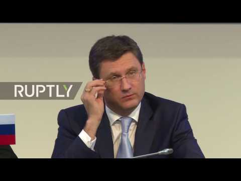 LIVE: Novak holds press conference with OPEC SG Barkindo in Vienna