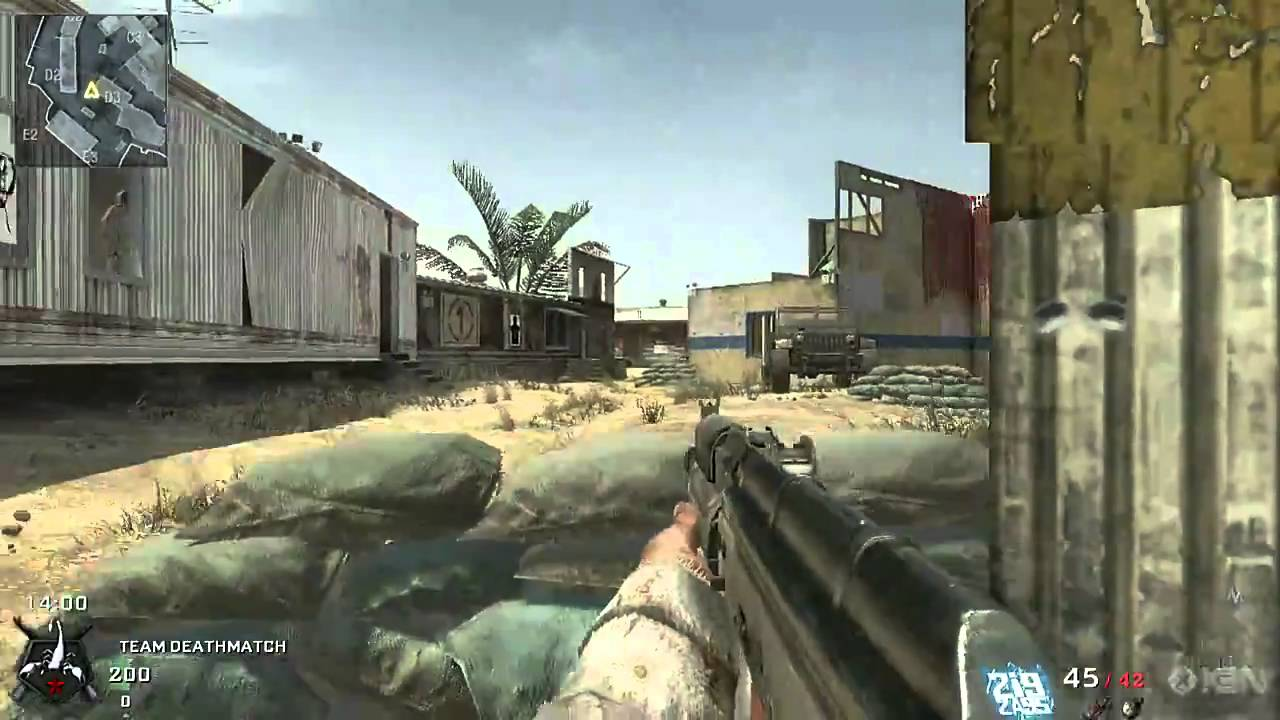call of duty black ops map walkthrough  firing range  youtube -