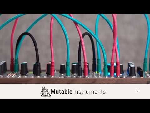 Rencontre avec Mutable Instruments : Stages, Marbles, Plaits... (audio only)