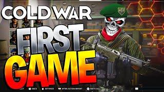 Black Ops Cold War Alpha - MY FIRST GAME!